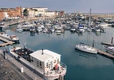 Ramsgate, Kent, porto BRITÂNICO foto de stock