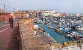 Ramsgate, Kent, porto BRITÂNICO imagem de stock