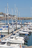 Ramsgate Mariner. This photo shows yachts and boats in the Ramsgate mariner. This photo could be used for sailing enthusiasts and to highlight the resort Stock Photos