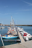 Ramsgate Mariner. This photo shows the yachts and boats in the Ramsgate mariner.  This photo is ideal for sailing enthusiasts and also to promote the resort Stock Photography