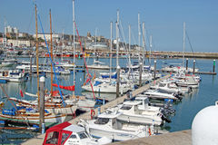 Ramsgate Mariner. This photo shows yachts in Ramsgate mariner.  This photo could be used for sailing enthusiasts and  highlight the resort Stock Photo