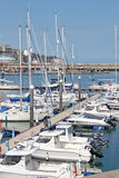 Ramsgate Mariner. This photo shows yachts in Ramsgate mariner.  This photo could be used for yacht enthusiasts and also to highlight the resort Stock Image