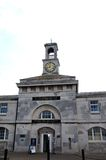Ramsgate Maritime Museum. The Maritime Museum at Ramsgate harbor/sea front adorned with a lovely clock tower. Picture is ideal to sow resort features and Royalty Free Stock Photos