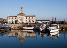 Ramsgate Maritime Museum. View of the Maritime Museum in Ramsgate Harbour, Kent, UK Royalty Free Stock Images
