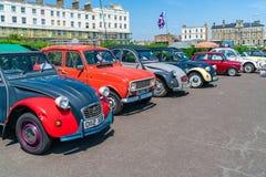 Ramsgate rydla i wiadra samochodu Klasyczny wiec fotografia royalty free