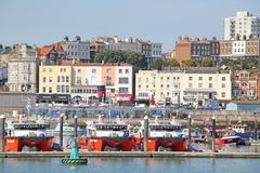 Ramsgate Sea Front And Harbour Stock Photography