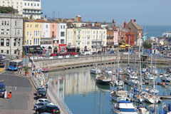 Ramsgate Sea Front And Mariner Stock Photos
