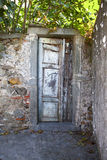 A ramshackle door royalty free stock photos