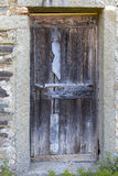 A ramshackle door Royalty Free Stock Images