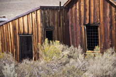 Ramshackle Old West House Royalty Free Stock Photography