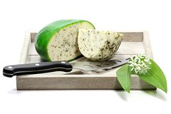 Ramson cheese Stock Images