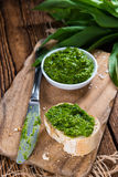 Ramson Pesto Stock Photo