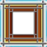 ramstålrör Arkivbild