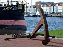 Ramtorenschip Buffel  museum schip Stock Image