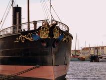 Ramtorenschip Buffel  museum schip Stock Images