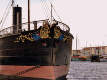 Ramtorenschip Buffel muzeum schip Obrazy Stock