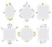 ramtråd royaltyfri illustrationer
