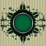 ramy kwiecista zieleń Zdjęcia Stock