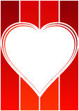 ramy tła miłości ilustracja wektor