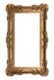 ramy whit odosobniony ornamentacyjny pionowo Obraz Royalty Free