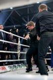 Ramzan Kadyrov Dancingowa lezginka zdjęcia stock