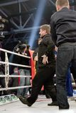 Ramzan Kadyrov Lezginka del baile imagenes de archivo