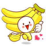 Ran the Banana Character Stock Images