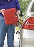 Ran Out van Gas Royalty-vrije Stock Foto