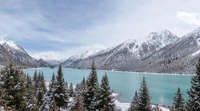 The Ran Wu lake Royalty Free Stock Image