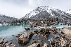 The Ran Wu lake Stock Images