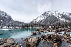 Ran Wu sjön Arkivfoton
