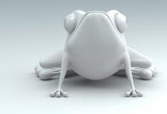 rana 3D Immagini Stock Libere da Diritti