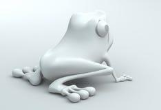 rana 3D Immagini Stock