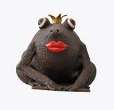Rana belga del cioccolato Immagine Stock