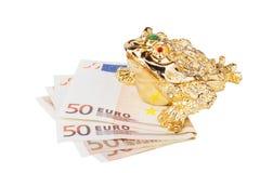 Rana cinese dei soldi Fotografia Stock