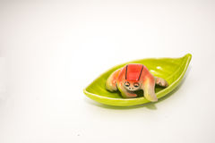 Rana de cerámica Imagen de archivo
