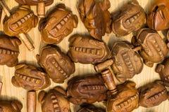 Rana di legno Immagine Stock
