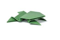Rana di Origami Fotografia Stock Libera da Diritti