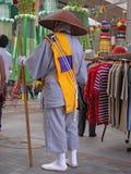 Rana pescatrice buddista Immagine Stock
