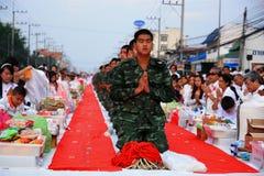 Rana pescatrice e buddista fotografie stock