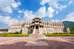 Ranakpur寺庙,印度 免版税库存照片