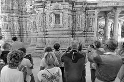 Ranakpur耆那教的寺庙在拉贾斯坦,印度 库存照片