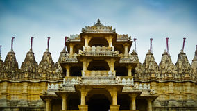 Ranakpur Jain Temple front entrance Stock Image