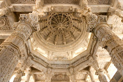 Ranakpur jain temple, Rajasthan. Royalty Free Stock Photography