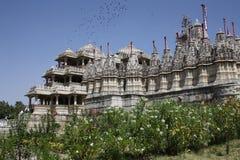 Ranakpur pałac w Rajastan ind Obraz Stock