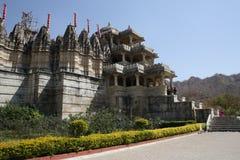 Ranakpur palace  in Rajastan  india Stock Photo