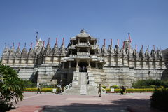 Ranakpur palace  in Rajastan  india Royalty Free Stock Photos