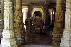 Ranakpur temple Royalty Free Stock Images