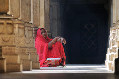 Ranakpur Temple Scene India Stock Photo