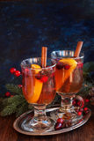 Сranberry punch in glass Royalty Free Stock Photography